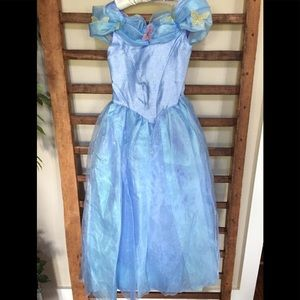 Girl's Cinderella Blue Ball Gown Size 10
